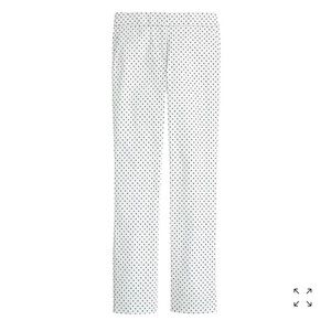 J.Crew Campbell Fit Capri Straight Pants Triangles